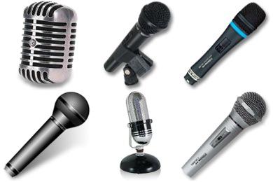 mikrofon icons