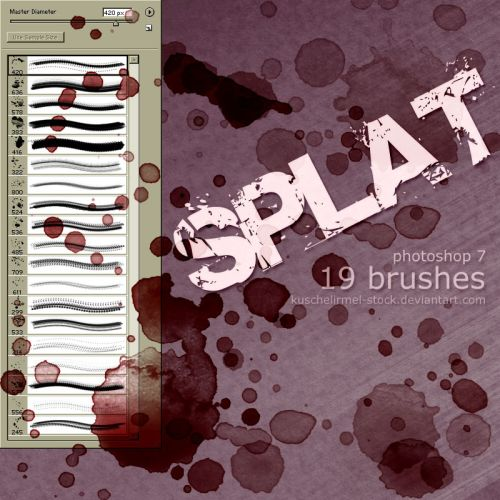 splat-brushes