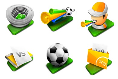 Fussball Icons