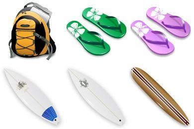 Surfen Icons