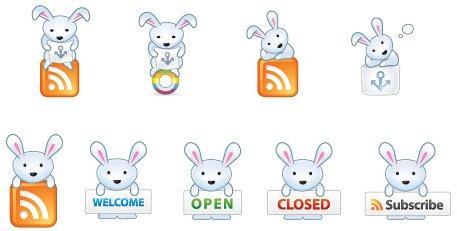 Osterhasen Icons