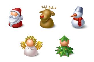 Weihnachten Figuren