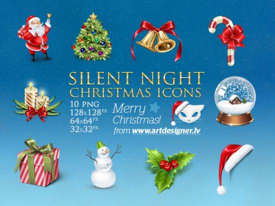 Weihnachten Icon Sammlung