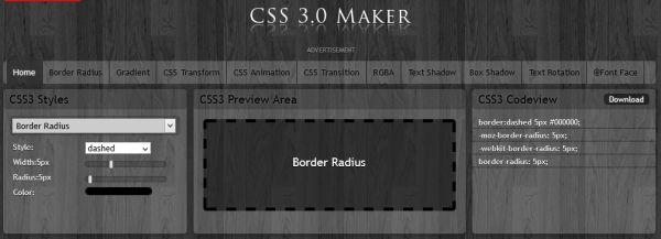 CSS Maker