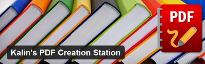 Wordpress PDF Creation